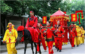 as a wedding tradition in china a is shown to the