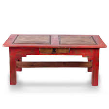 riveting acuna rustic coffee table made from kiln dried pine to
