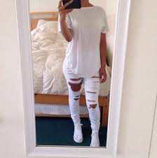 all white casual total white via on we it