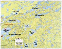map f f 11 snowbank lake knife lake kekekabic lake fisher maps