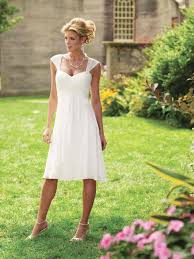 short a line country wedding dress davids bridal collection