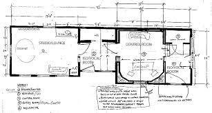 recording studio floor plan recording studio building plans group tag building plans online