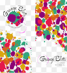 vector color splashes creative color splash png and vector for