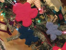 felted wool cookie cutter ornaments wee folk