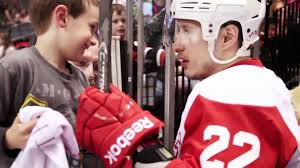 jordin tootoo gives away his stick youtube