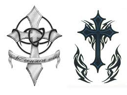 top tattoos pictures cross designs