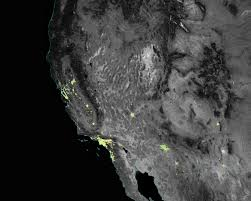 United States Light Map by Even From Space Holidays Shine Brightly Image Of The Day