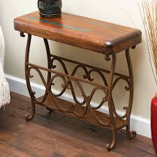 Rustic Accent Table Western U0026 Rustic Tables
