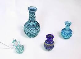 Beaded Vases 142 Best Beaded Art Images On Pinterest Seed Beads Beaded