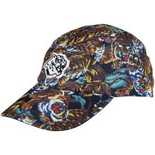 kenzo kenzo multi tiger print cap men from brother2brother uk