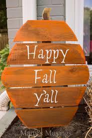 diy rustic fence board pumpkins