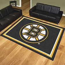 Nhl Area Rugs Boston Bruins Nhl 8ft X10ft Area Rug Ebay