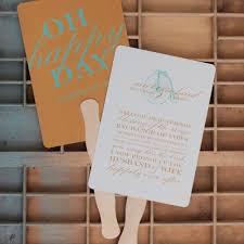 Wedding Program On A Fan 78 Best Wedding Stationery Images On Pinterest Marriage Wedding