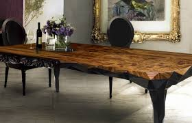 spring trends u2013 wooden dining tables for contemporary home