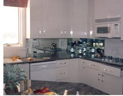 mirrored backsplash in kitchen alluring 70 mirrored backsplash inspiration design of best 20