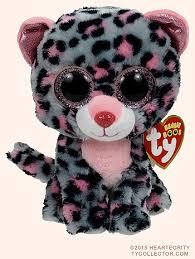 tasha ty beanie boos leopard