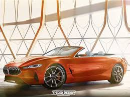 bmw 800 series 8 series concept looks stunning as a convertible