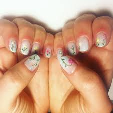 make flower nail art design best nail 2017 easy floral nails with