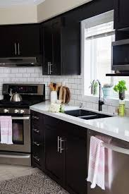how we installed our subway tile backsplash brittany stager