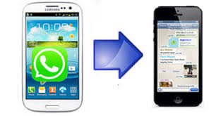 iphone to android transfer how to transfer whatsapp conversations from android to iphone