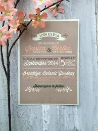 Kraft Paper Wedding Programs Get Krafty With Kraft Paper