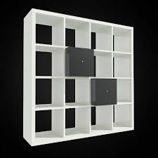 Expedit Bookshelves by 3d Ikea Expedit Bookcase High Quality 3d Models