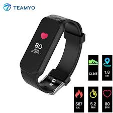 wrist bracelet monitor images Bluetooth smart band b5 heart rate monitor color touch screen jpg