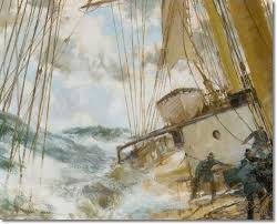 Nautical Painting 327 Best Marine Paintings By Artist Montague Dawson Images On