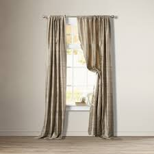 dining room curtain panels beudan silk single curtain panel cashmere a client u0027s new home