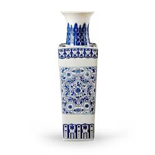 Dark Purple Vase Porcelain Bungalow 5