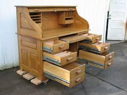 Oak Computer Desk With Hutch How Roll Top Computer Desk Reduce Clutter Marlowe Desk Ideas