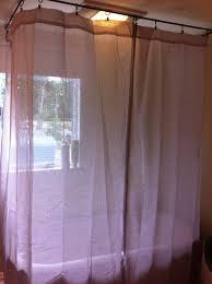 Shower Curtain Rod Round - round shower curtain rod for clawfoot tub home design ideas
