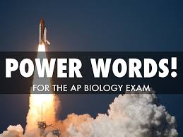 ap biology exam power words by jeremy conn