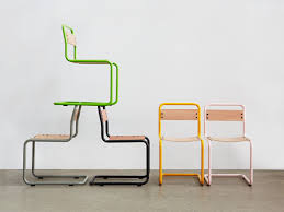 Design Chairs by Bauhaus Design Chair Cantilever Molded Plywood Metal Pipe
