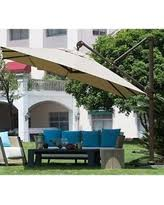 11 Ft Offset Patio Umbrella Deals Sales On 11 Foot Patio Umbrellas