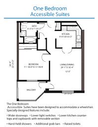 Bunkie Floor Plans by One Bedroom Floor Plans Fujizaki