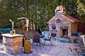 Outdoor Fireplace Canada - chimney king outdoor fireplace and pizza oven gallery