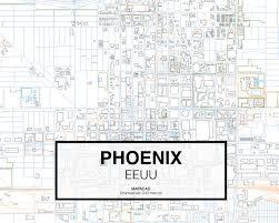 Phoenix City Map by Download Phoenix Dwg Mapacad