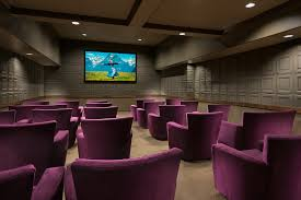 movie theater in home independent and assisted living projects warner design associates