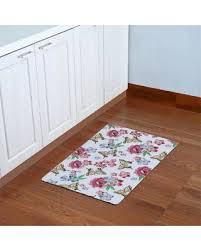 essential home floor l amazing deal on essential home floral butterfly 18 x 30 kitchen