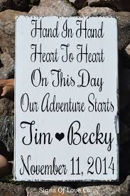 save the date sles in heart to heart personalized rustic wedding sign decor