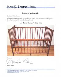 Nursery Furniture Store Los Angeles Baby Crib Of Lee Harvey Oswald Goes From New Orleans To The