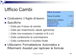 ufficio cambi microsoft office excel powerpoint access ppt scaricare