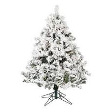 7 5 fast shape white alaska pine tree with lights hobby lobby