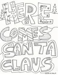 merry christmas printable coloring free printable