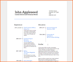 word document resume template free resume template and
