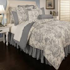 country style teen bedroom decor with sherry kline toile blue