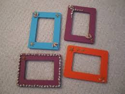 how to make homemade picture frames tags ideas for painting
