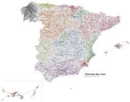 Map Spain Zipscribble Map Spain