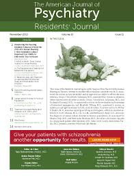 american journal of psychiatry residents u0027 journal